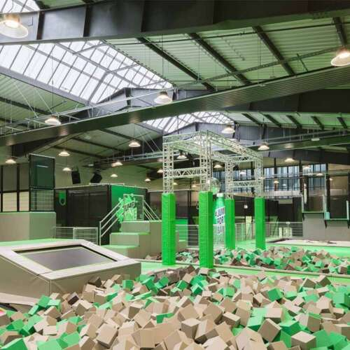 Foam pit - trampolinepark Jump One Hannover