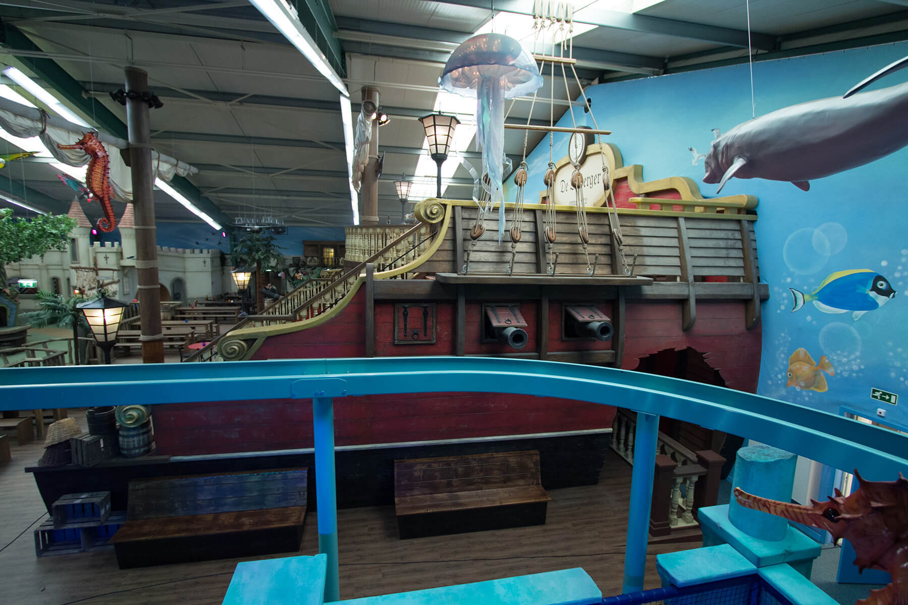 Indoor Speelstructuur Kids Wonderland Molenschot - ELI Play