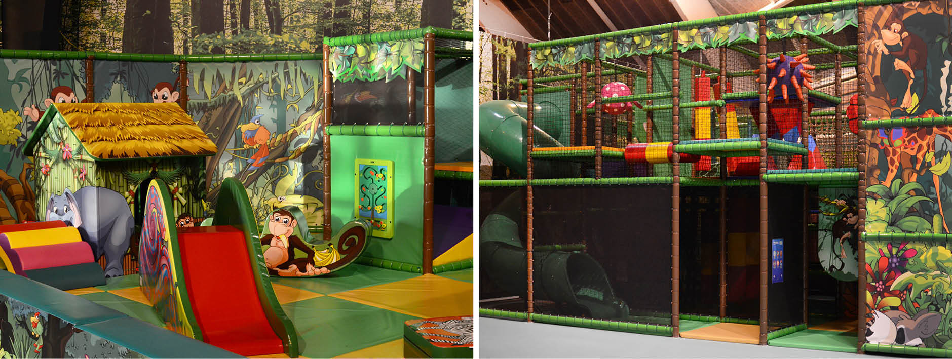 Soft play en speelstructuur